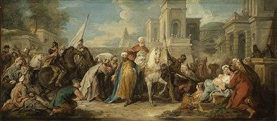 Jean François de Troy: Triumph of Mordecai