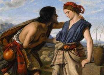 William Dyce: Rachel and Jacob