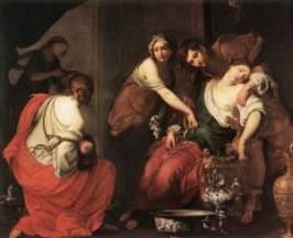Francesco Furini: Death of Rachel
