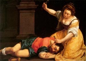 Artemisia Gentileschi: Jael and Sisera