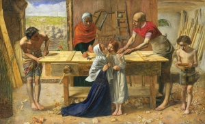 John Everett Millais: Christ in the House of His Parents - The Carpenter's Shop