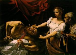 Caravaggio: Judith beheading Holofernes