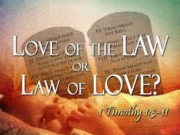 lawoflove or loveoflaw