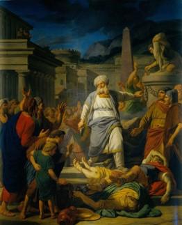 Michel Nicolas Bernard Lépicié: Mattathias Kills an Officer of Antiochus