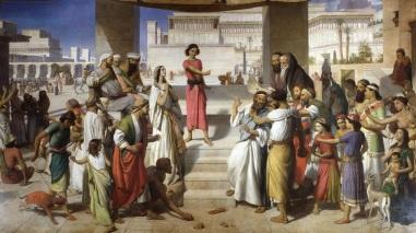 UK Parliament - John Rogers Herbert: The Judgment of Daniel