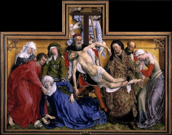 Van der Weyden: The Deposition of Christ or Desxcent from the Cross (The Pradoi Museum, Madrid, Spain)