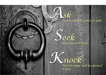 ask_seek_knock_importunity