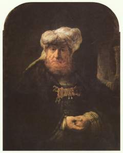 Rembrandt: The King Uzziah Stricken with Leprosy