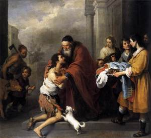 Bartolomé Esteban Murillo: Return of the Prodigal Son - National Gallery of Art, Washington, D.C.