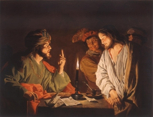 Gerrit Van Honthorst: Christ Before the High Priest, Annas