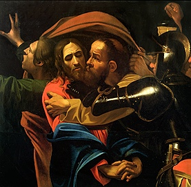Caravaggio: Taking of Christ