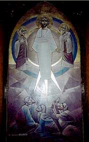Coptic Icon of the Transfiguration of Christ