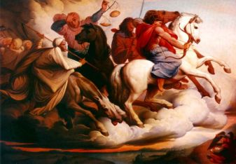 EdwardVon Steinle: The Four Horsemen of the Apocalypse
