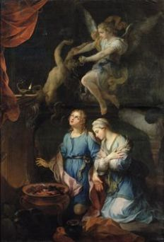 Pierre Parrocel: The Marriage of Tobias and Sarah