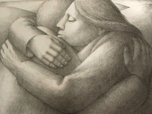 George Tooker: The Embrace II