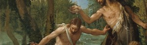 Paolo Veronese and Paolo Caliari Workshop: The Baptism of Christ (detail)