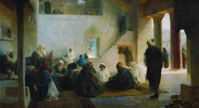 Vasiliy Polenov: Among the Teachers