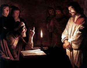 Gerard von Honthorst: Christ Before the High Priest