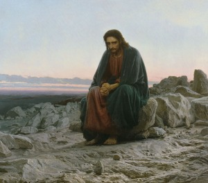 Ivan Kramskoy: Christ in the Desert