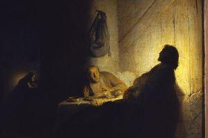 Rembrandt: Emmaus Pilgrims