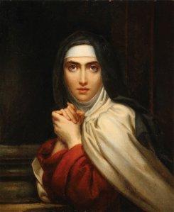 François Gérar: St. Teresa of Ávila