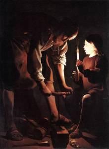 Georde de la Tour: St. Joseph the Carpenter