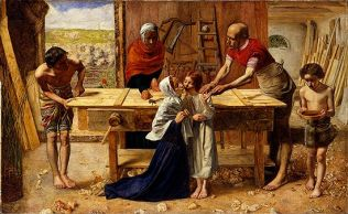 John Everett Millais: Christ in the Carpenter's Shop