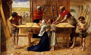 John Everett Millais: Christ in the Carpenter's Shop