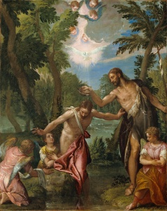 Paolo Veronese Workshop: The Baprism of Christ