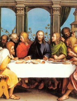 Hans Hobein the Younger: The Last Supper
