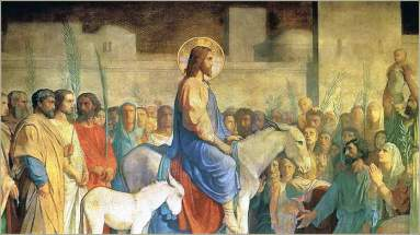 Hippolyte Flandrin: Christ's Entry into Jerusalem
