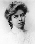 Eleanor Roosevelt in her youth
