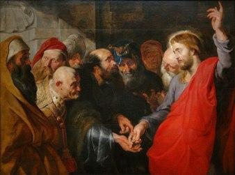 Rubens: Render Unto Caesar