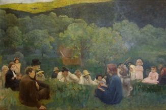 Károly Ferenczy: The Sermon on the Mount