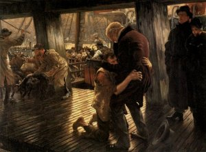 James Tissot: The Prodigal Son in Modern Life: The Return