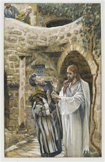 Tissot: Jesus heals a Mute Man Possessed by Demons