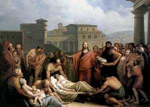 Mathieu Ignace van Bree: Christ Heals the Paralytic