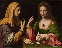 Bernardino Luini:The Conversion of the Magdalene