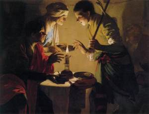 Hendrick ter Brugghen: Esau Selling his Birthright
