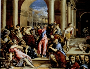El Greco: The Purification of the Temple