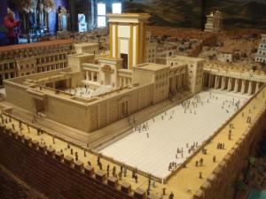 Model of the rebuilt Temple in Jerusalem