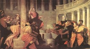 Paolo Veronese: Jesus Among the Doctors in the Temple