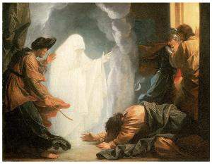 Benjamin west: Saul and the Witch of Endor