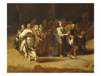 Bartholomeus Breenbergh: Jesus Healing a Deaf-mute