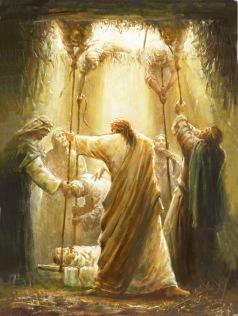 Yongsung Kim: Jesus Healing the Crippled