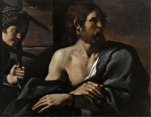 Guercino: Saint John the Baptist in Prison Visited by Salome