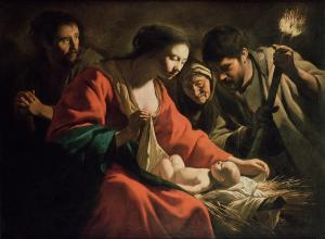 Le Nain Brothers: The Nativity with the Torch