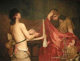 Ernst Josephson: David and Saul