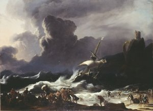 Ludolph Backhuysen: Paul's Shipwreck