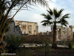 www.bibleplaces.com: The Synagogue in Capernaum